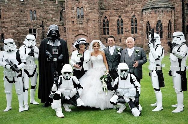 Символическая свадьба с инопланетянами