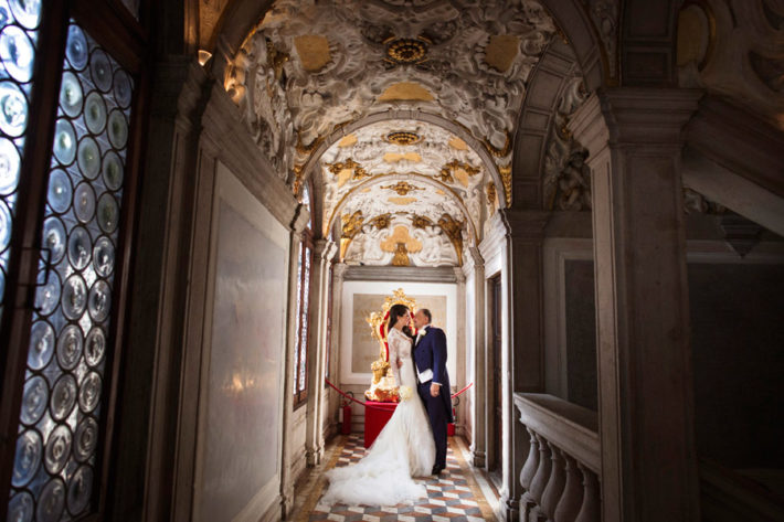 Символическая свадьба в Венеции