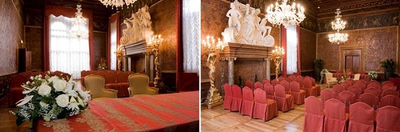 свадьба в Венеции в казино