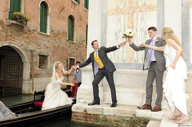 Организация свадеб в Италии - Свадьба в Венеции