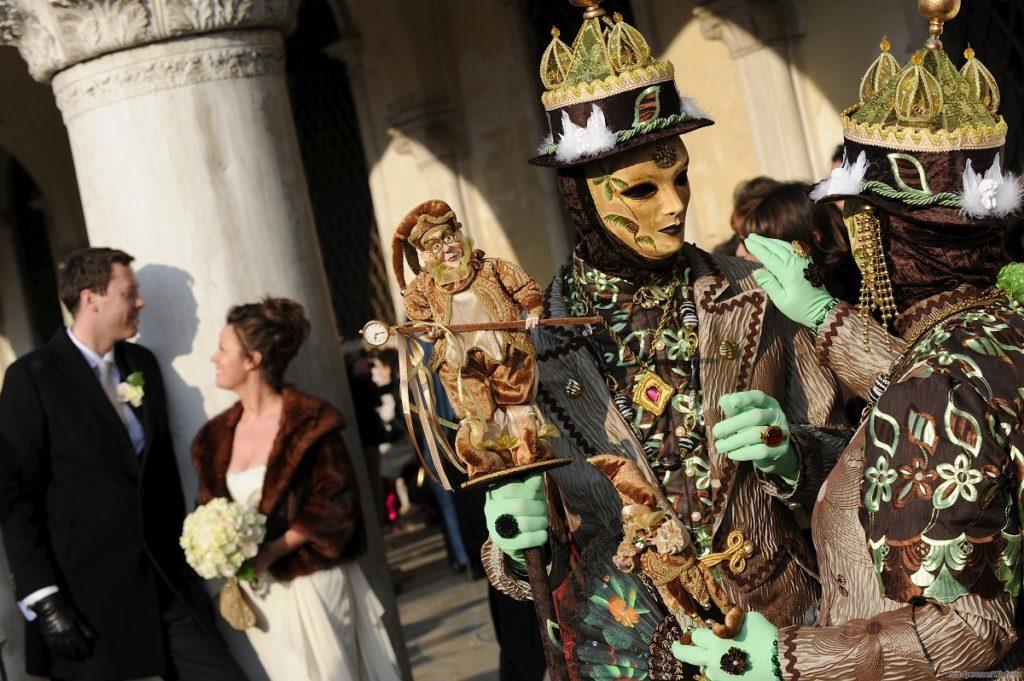 Официальная свадьба в Венеции