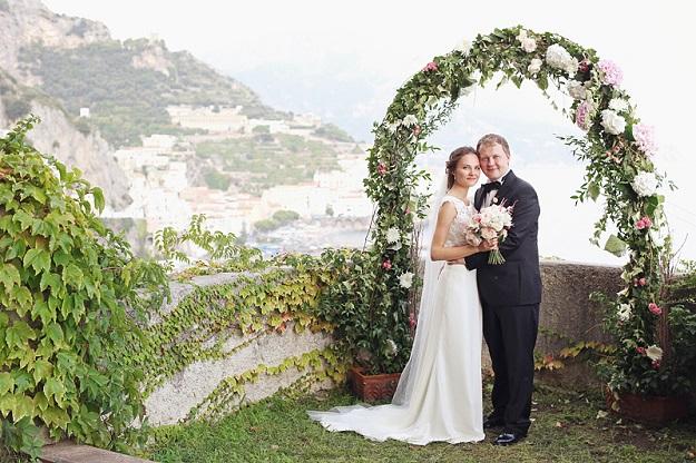 Официальная свадьба в Италии -- профессиональные организаторы