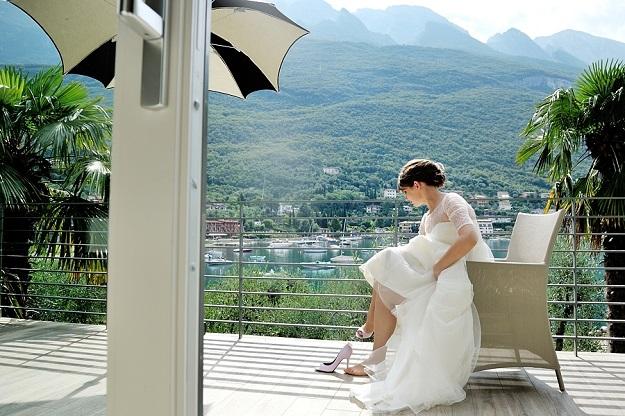 Свадьба в замке Италия