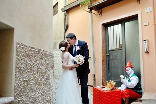 Русская свадьба в Италии