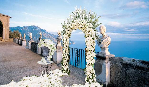 Свадьба в Италии, индивидуальный дизайн