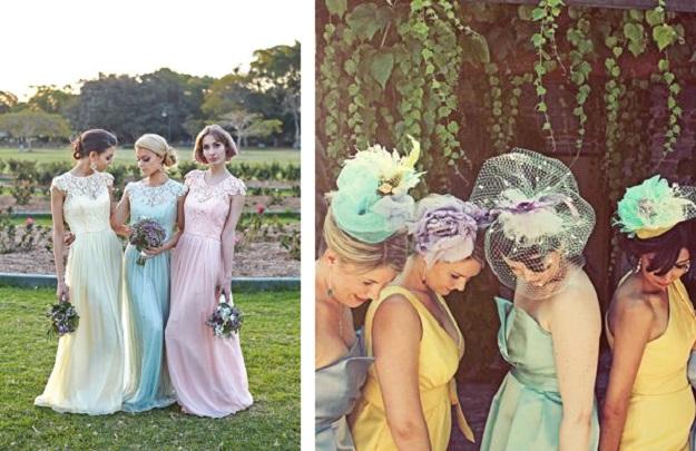 Свадьба в Италии, все цвета радуги