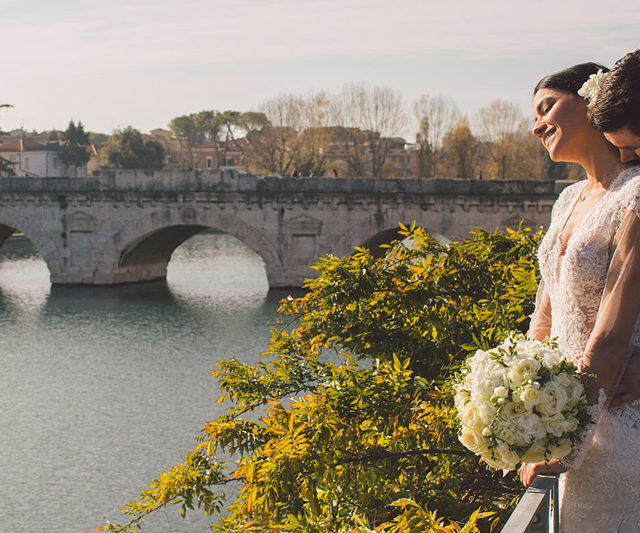 Символическая свадьба в Римини