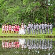 beautiful-wedding-party-pictures-reflecting-in-the-lake-at-the-holiday-cottage-in-brookgreen-gardens-1199x817