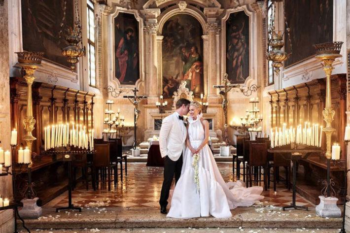 Символическая свадьба в Венеции -- свадьба во дворце