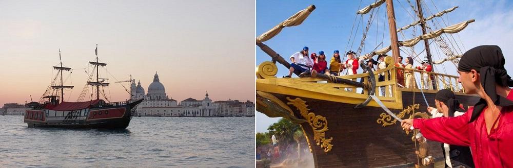 Свадьба в Венеции в компании с пиратами