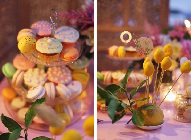 Свадьба в Италии, кэнди бар, изготовление и сервировка сладостей