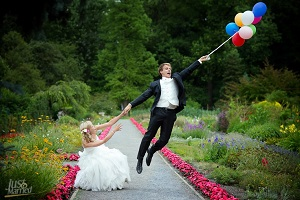 wedding in Italy baloons